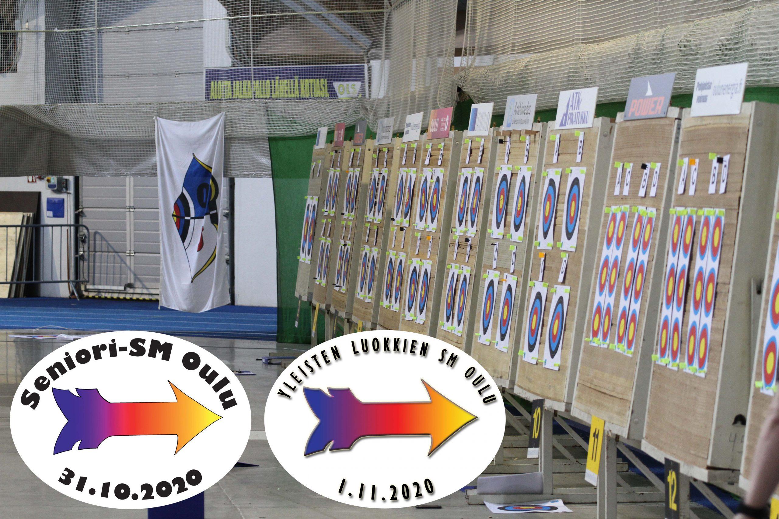 Senioreiden halli-SM2020 ja Yleisten luokkien SM 2020 OUlu